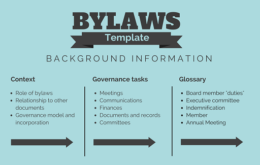 BYLAWS Background (1)b  Bylaw Template