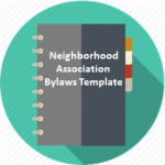 neighborhood association bylaw template