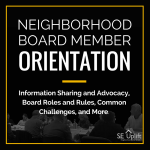 NEIGHBORHOOD BOARD MEMBER ORIENTATION (2)