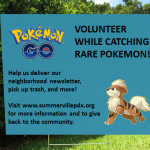 pokemon yard sign