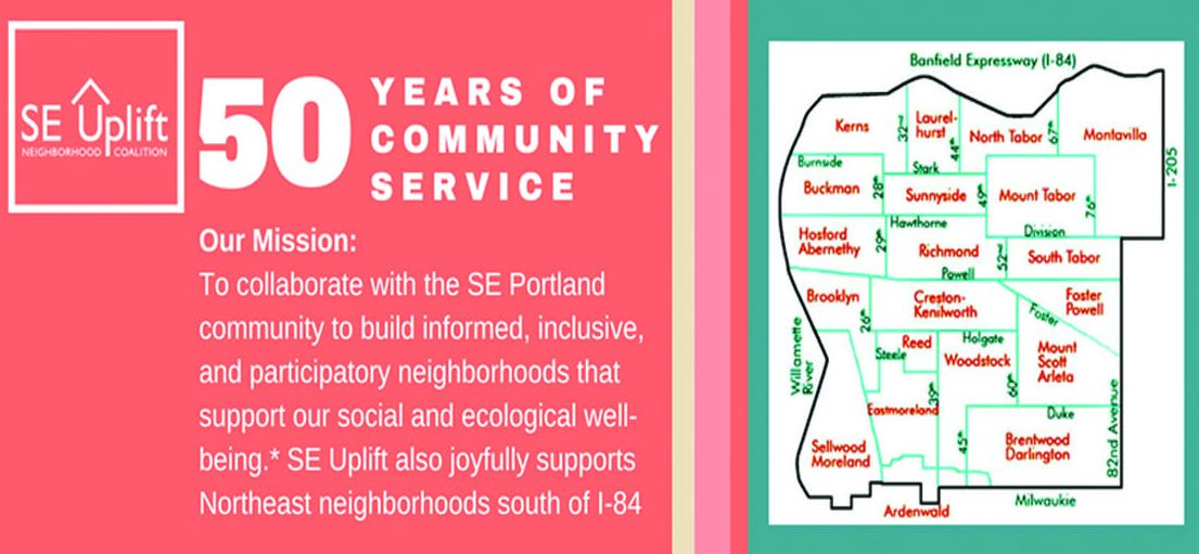 Invitation to SE Uplift 50th Anniversary. Click the image to RSVP.