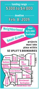 Portland Small Grants Program - SE Uplift
